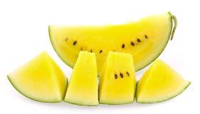 黄色西瓜 库存照片
