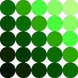 绿色调色板 库存图片