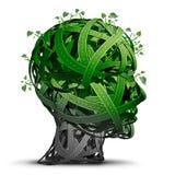 绿色运输认为 免版税库存照片