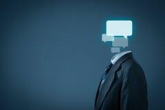 黑色通信概念收货人电话 免版税库存照片