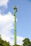 绿色通讯台 免版税库存图片