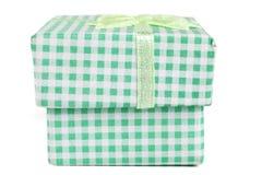 绿色配件箱 免版税库存照片