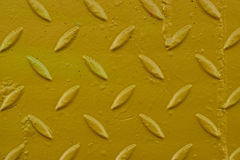 黄色金刚石板材 免版税库存图片