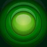 绿色金属圆形 库存图片