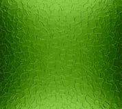 绿色金属片纹理背景 免版税图库摄影