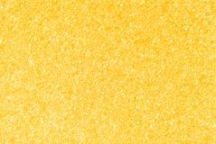 黄色金黄多孔纹理背景 免版税库存图片