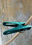 绿色钉 图库摄影