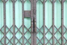 绿色钢doo 免版税库存照片