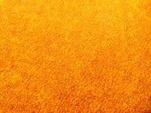 黄色铁锈钢表面 免版税库存图片