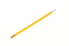 黄色铅笔 免版税库存图片