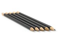 黑色铅笔 库存照片