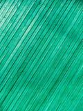 绿色门 木纹理 老破旧,被照耀的油漆 免版税图库摄影
