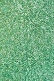 绿色闪烁背景 免版税库存照片