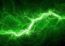 绿色闪电 皇族释放例证