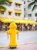 黄色阀门 库存照片