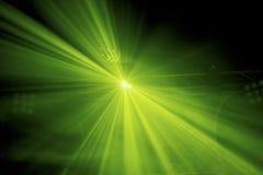 绿色阶段照明设备 库存图片