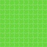 绿色难题的无缝的样式 免版税库存照片