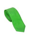 绿色领带 免版税图库摄影