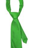 绿色领带 库存图片