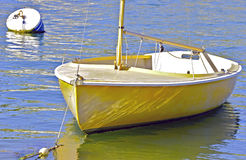 黄色风船 免版税库存照片