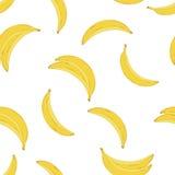 黄色香蕉样式 库存照片