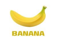 黄色香蕉 免版税图库摄影
