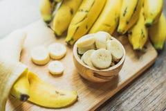 黄色香蕉 免版税库存照片