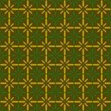 黄绿色麦子样式 免版税库存照片