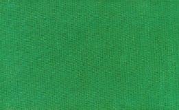 绿色织品纹理  免版税库存图片