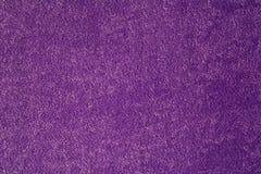 紫色织品背景纹理  免版税库存图片