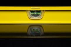 黄色水平 库存图片
