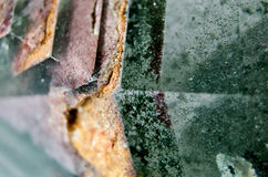 绿色水晶8 免版税库存图片