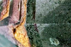 绿色水晶3 免版税库存照片