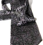 紫色黑暗的领带 免版税库存图片