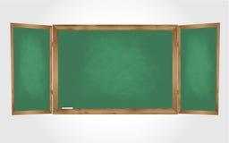 绿色黑板 免版税库存照片