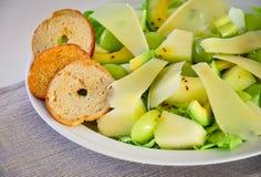 绿色水果沙拉 免版税库存照片