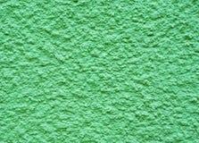 绿色水泥墙壁 库存图片