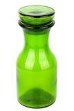 绿色玻璃化学制品瓶 图库摄影