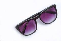 紫色玻璃 免版税图库摄影