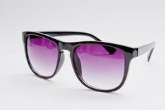紫色玻璃 免版税库存照片