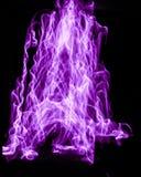 紫色轻的绘画 库存照片