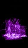 紫色轻的绘画 图库摄影