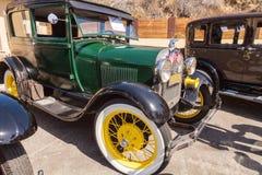绿色1928年福特模型A 库存图片
