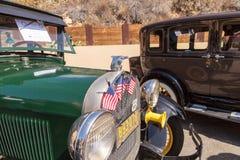 绿色1928年福特模型A 免版税库存图片