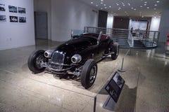 黑色1927年福特模型T风俗跑车 免版税库存照片