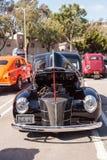 黑色1940年福特豪华轿车 免版税库存图片