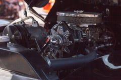 黑色1940年福特豪华轿车 库存照片