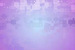 紫色紫罗兰色绿松石发光的各种各样的瓦片背景 库存图片