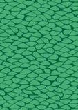 绿色细胞抽象传染媒介背景设计 免版税库存照片