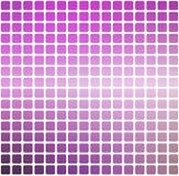 紫色绿色桃红色环绕了在白方块的马赛克背景 图库摄影
